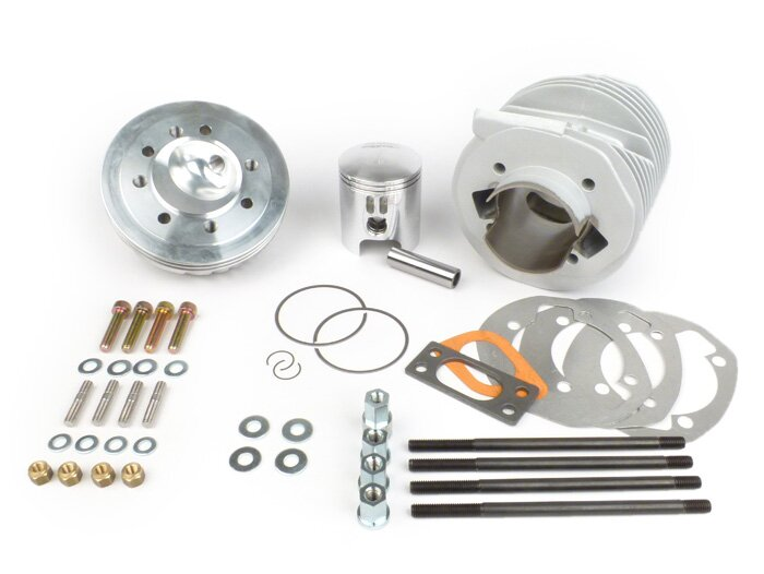 Lambretta Cylinder kit, Race-Tour RT195/200, standard piston ported, MBgm