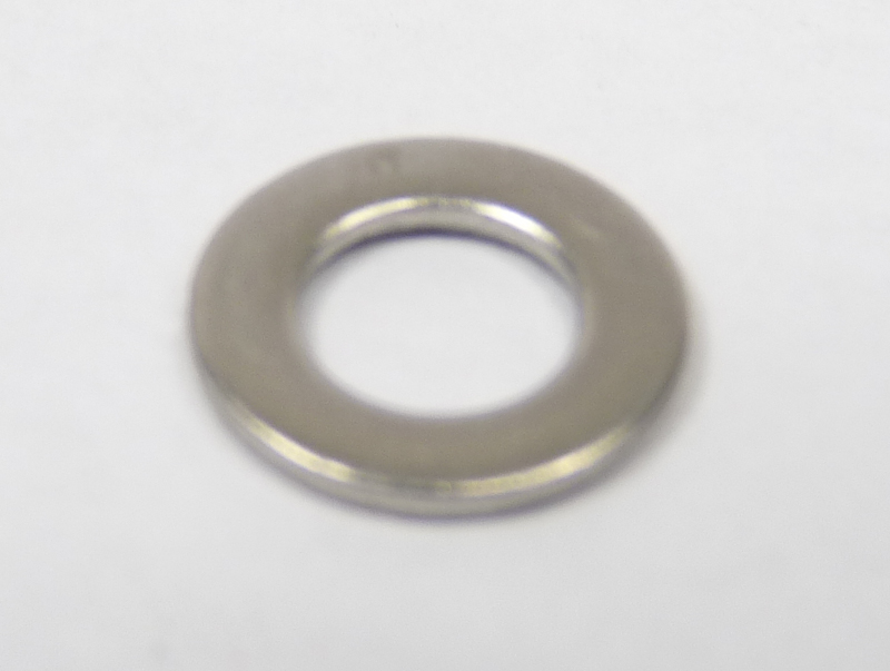 Washer, plain, 5mm, form A thicker, stainless steel