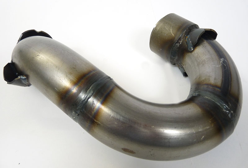 Exhaust, MB Big Box Clubman, unpainted, MBgm
