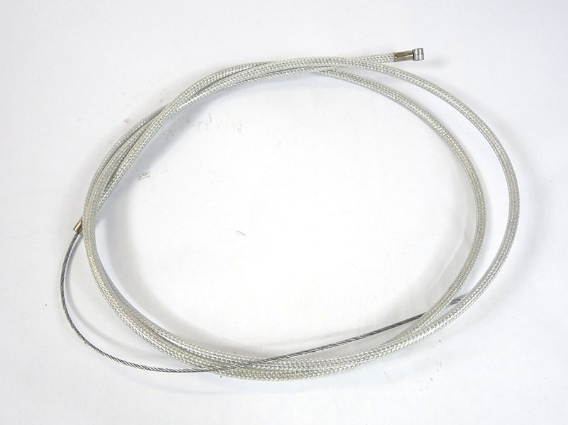 Lambretta Cable complete, clutch and front brake, stainless steel braided friction free nylon lined, Race-Tour, MB