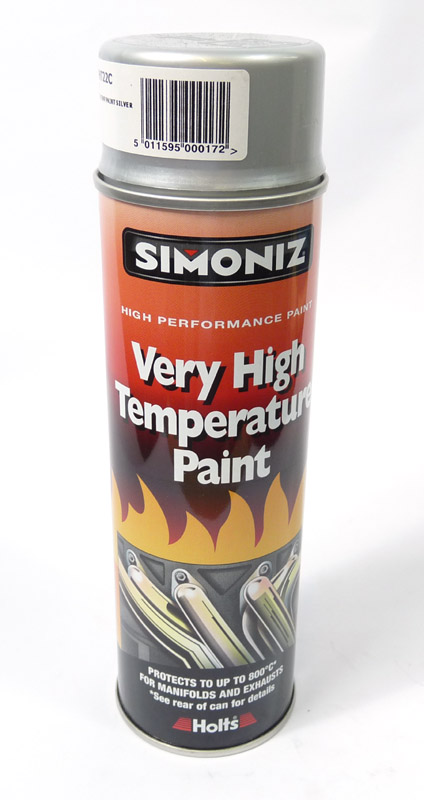 Exhaust spray, Silver, Simoniz VHT
