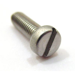 Screw, cheese head, 5 x 20mm, stainless steel