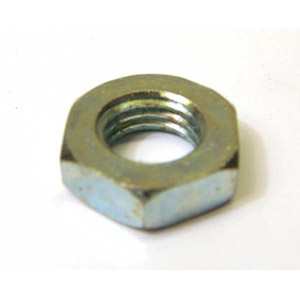 Nut, half lock, 12 x 1.50mm for hub spindle, zinc plated