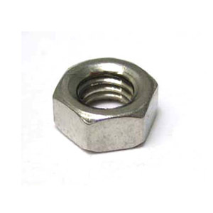 Nut, plain, 6mm, stainless steel