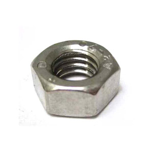 Nut, plain, 8mm, stainless steel