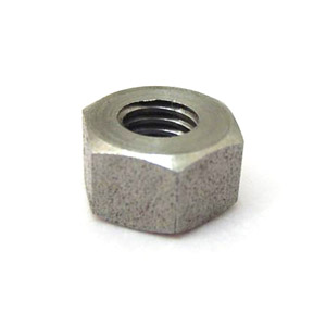 Nut, plain, 8mm, tall as per original Lambretta, stainless steel, MB