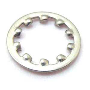 Washer, shake proof, 16mm, internal for choke assemblies, stainless steel