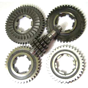Gear box Gp200 (Gp125) Indian, complete (4 loose gears and cluster)