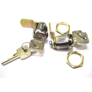 Lambretta Side panel locks, pair with matched keys