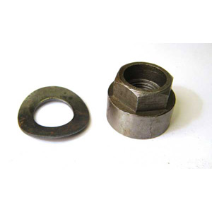 Flywheel nut and washer, Gp