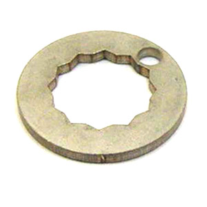 Rear hub lock washer, stainless steel, MB