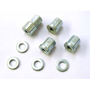 Cylinder head distance spacer nut and washer kit, MB