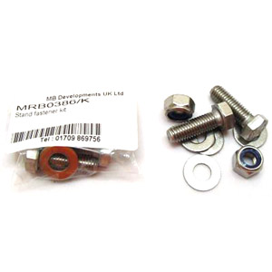 Stand fastener kit, stainless steel