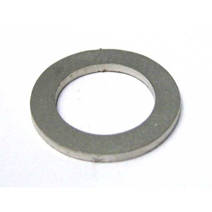 Handle bar (headset) rod shim, 1.0mm, stainless steel, MB
