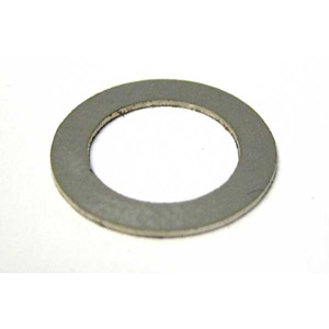 Handle bar (headset) rod shim, 0.5mm, stainless steel, MB