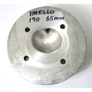 Cylinder head, 190 road (reprofiled for Imola and Mugello 64mm Lambretta pistons) MB
