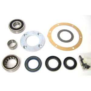 Bearing, upgrade kit, Lambretta Gp 200, includes bearings, seals, gaskets, screws and drive plate, MB