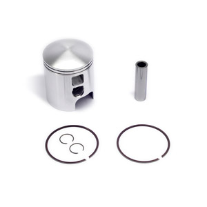 Piston kit, 71.00mm, 29mm crown, 18mm pin, Race-Tour for Lambretta piston port cylinders, MB