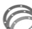 Gasket set, magneto housing, set of 3, 0.5mm, 1.0mm, and 1.5mm thick, MB