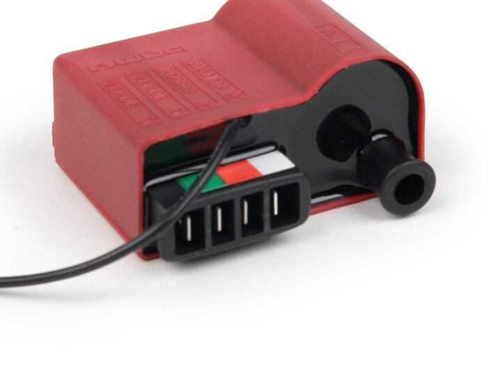 Electronic Red ignition CDI coil for Lambrettas, Vespas PX, PE, T5, PK, BGM