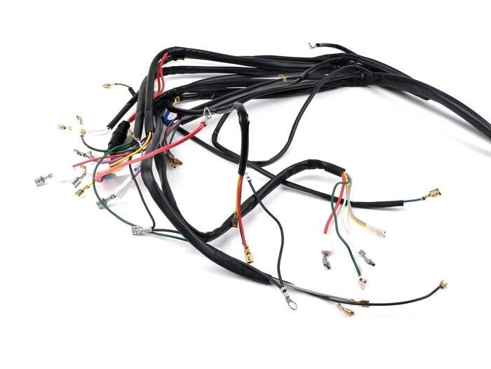 vespa  wiring loom px  till 1983  german models  bgm