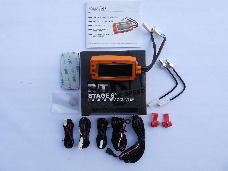 Digital Rev Counter  Temp Gauge Voltage And Air Fuel