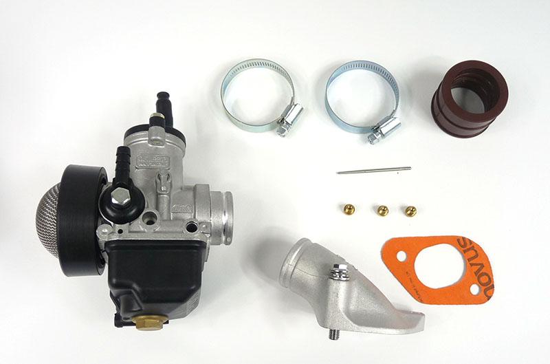 Lambretta Carburettor kit, large block, Dellorto 28mm PHBH