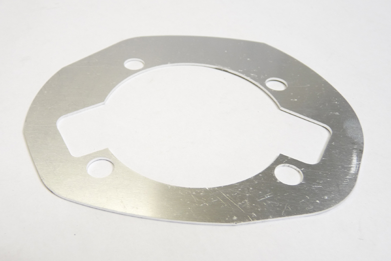 Lambretta Gasket, cylinder base packing (packer) plate, small block, 1.2mm, MB