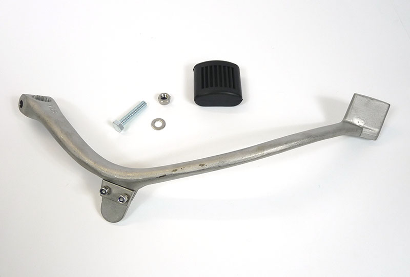 Lambretta Kickstart pedal (lever) adjustable type, Black rubber, Series 3, Race-Tour, MB