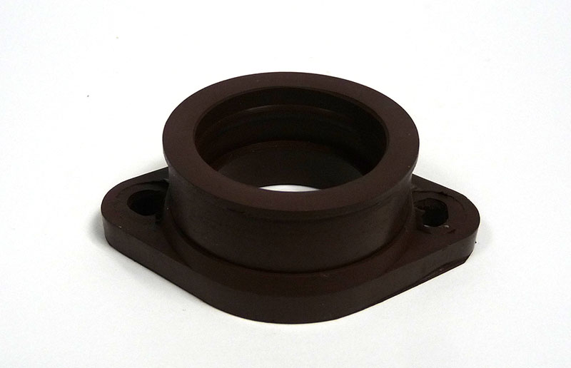 Lambretta Inlet manifold carb mounting rubber flange type, Mikuni TMX 35mm, Amal 28-35mm, MB