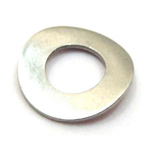 Washer crinkle 16mm, rear hub nut washer, stainless steel
