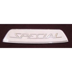 Lambretta Badge Silver type Special rear frame