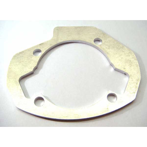 Lambretta Gasket, cylinder base packing (packer) plate, large block, 4.0mm, MB