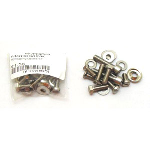 Lambretta Horn cast fastener kit, Li, Sx, Tv, Gp, stainless steel