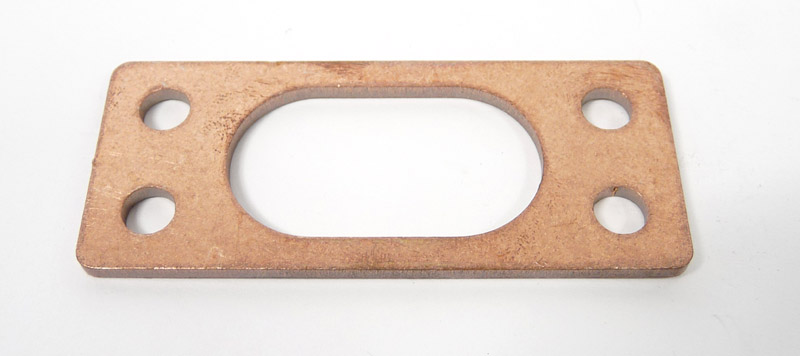 Exhaust gasket, big bore, OVAL copper type, MB