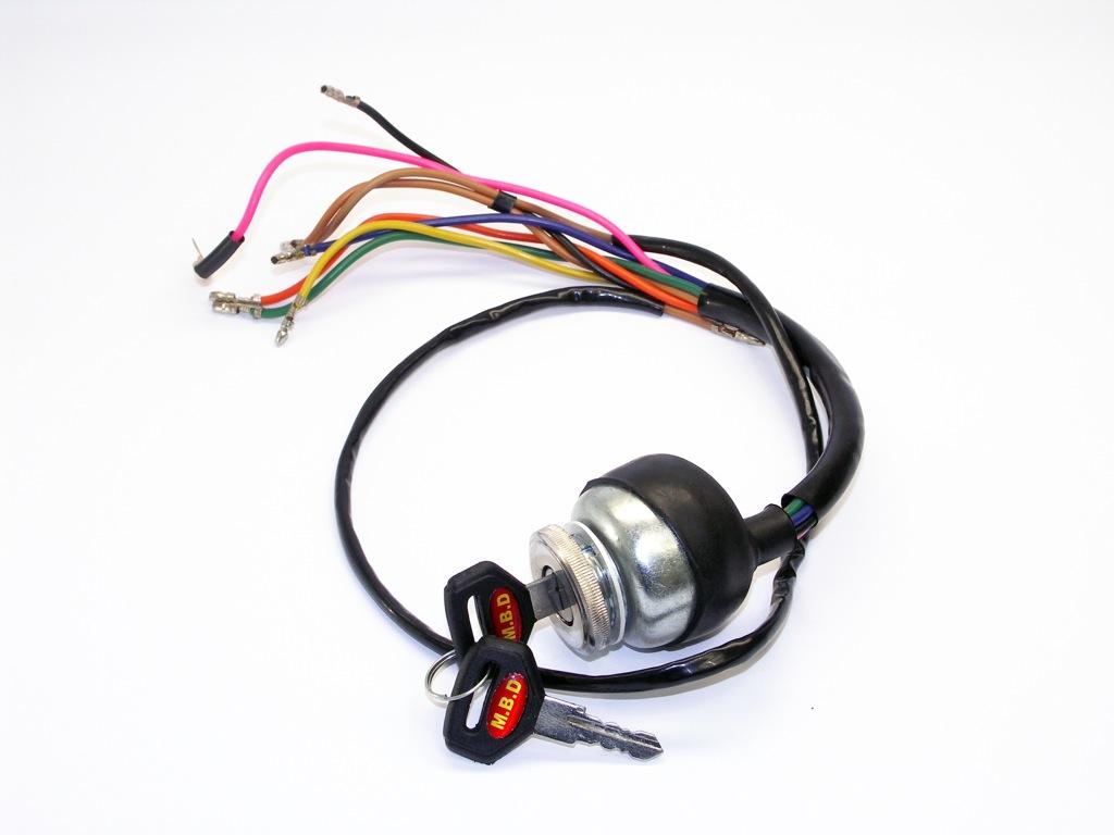 handle bar headset ignition switch dc or ac mb mbp0153. Black Bedroom Furniture Sets. Home Design Ideas